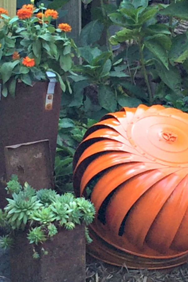 DIY HOUSE VENT PUMPKIN