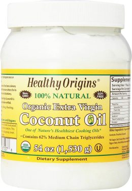 Coconut oil for use in lotion bars