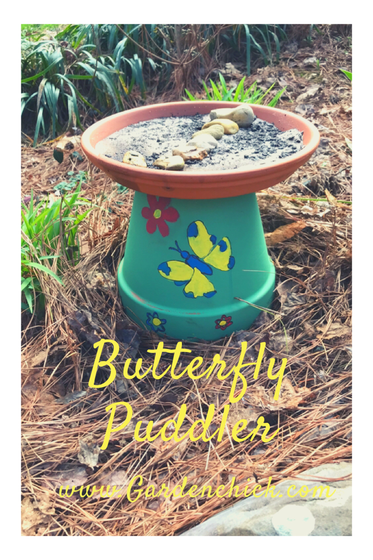 DIY Butterfly Puddler