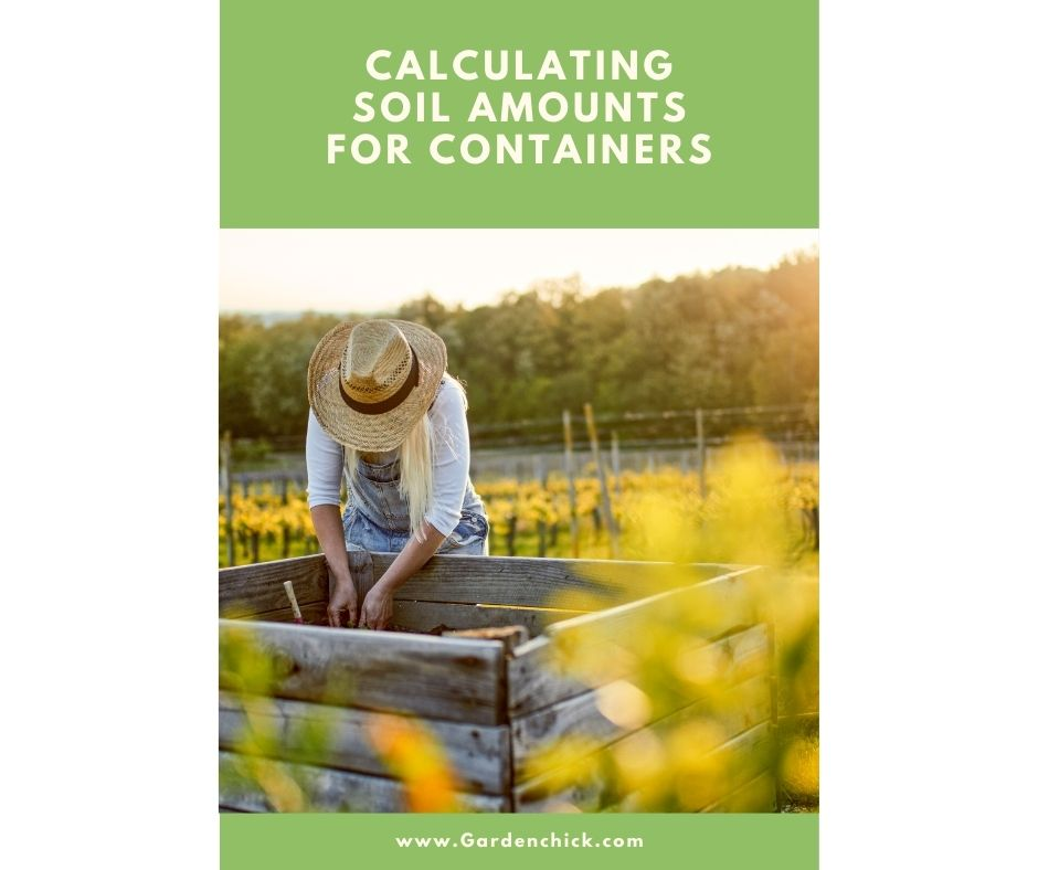 How do I calculate how much soil I will need for a raised bed garden