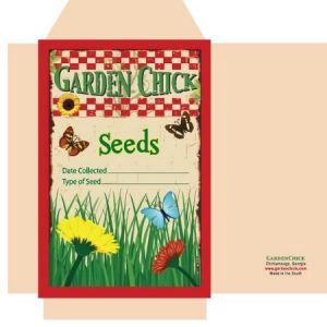 Seed packets for saving seeds